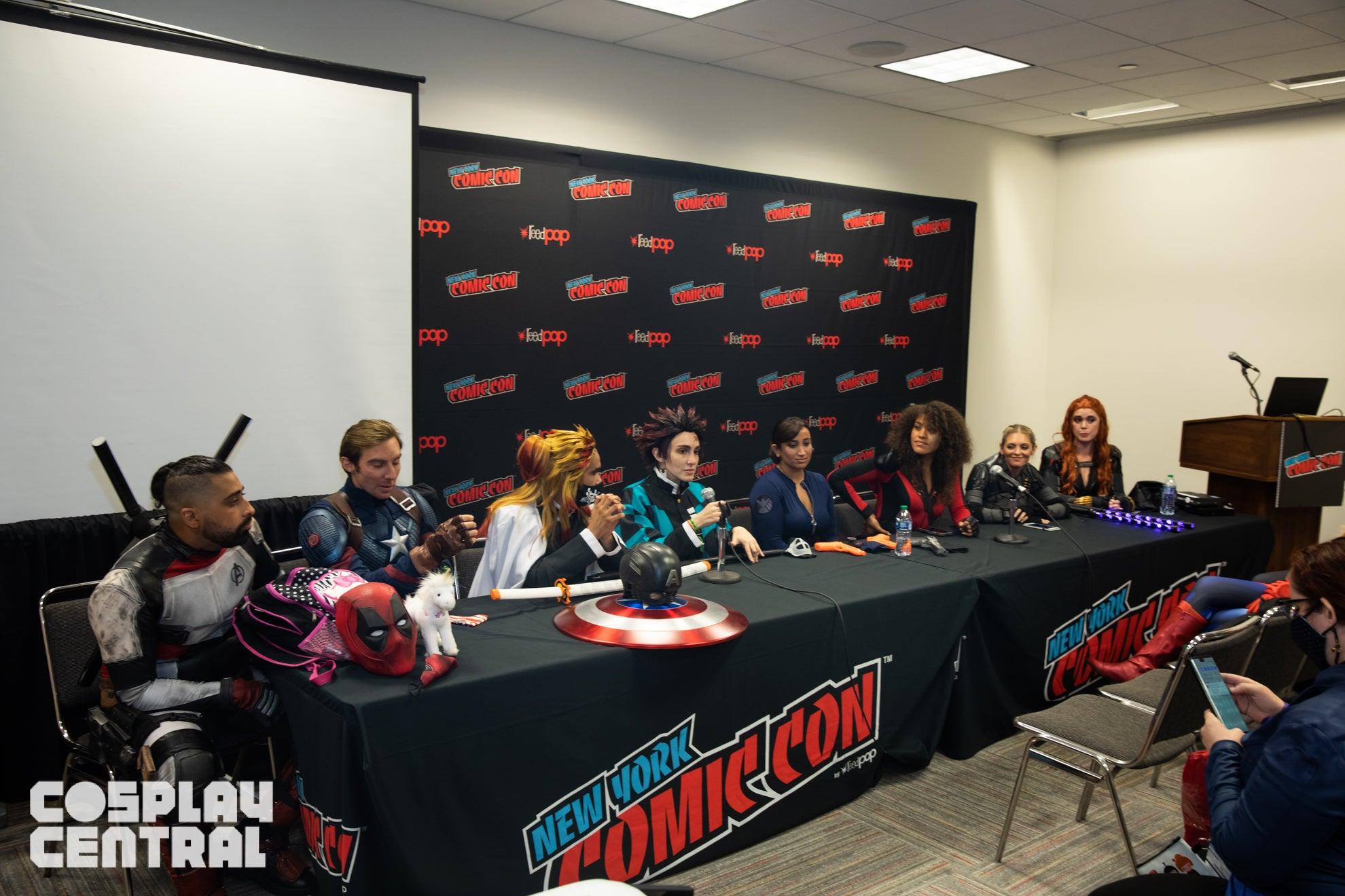 New York Comic Con Day 1