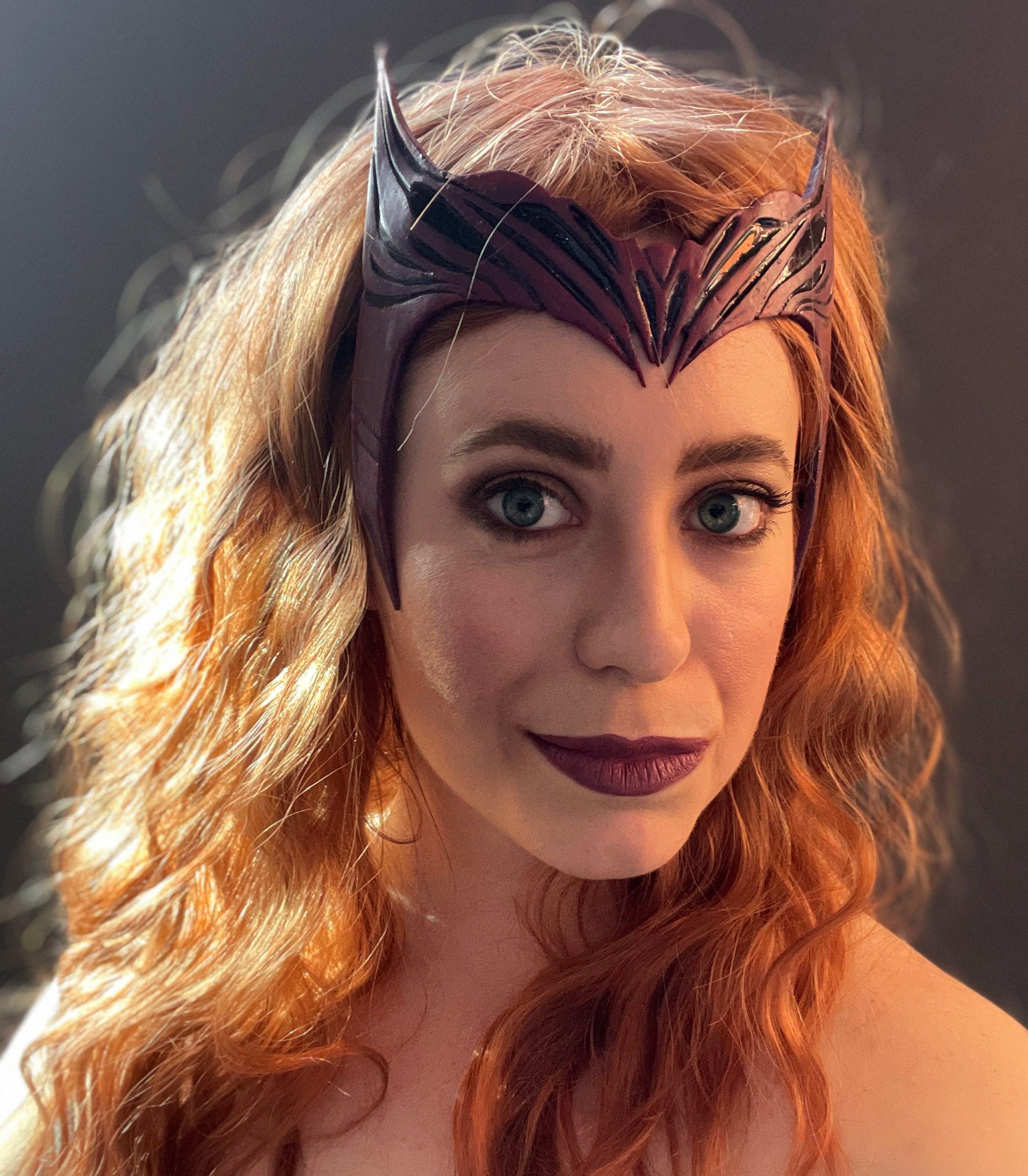 Scarlet Witch Wig Tutorial