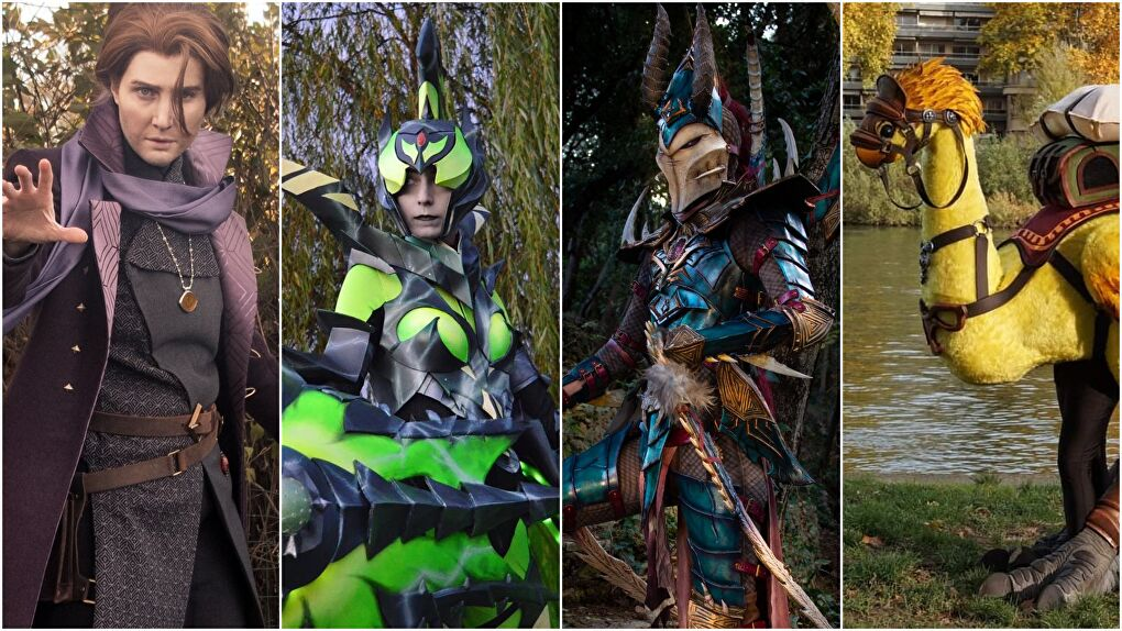 Glitchcon Cosplay Competition Winners