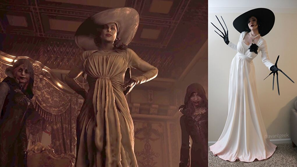 Lady Dimitrescu Cosplay from Resident Evil Village