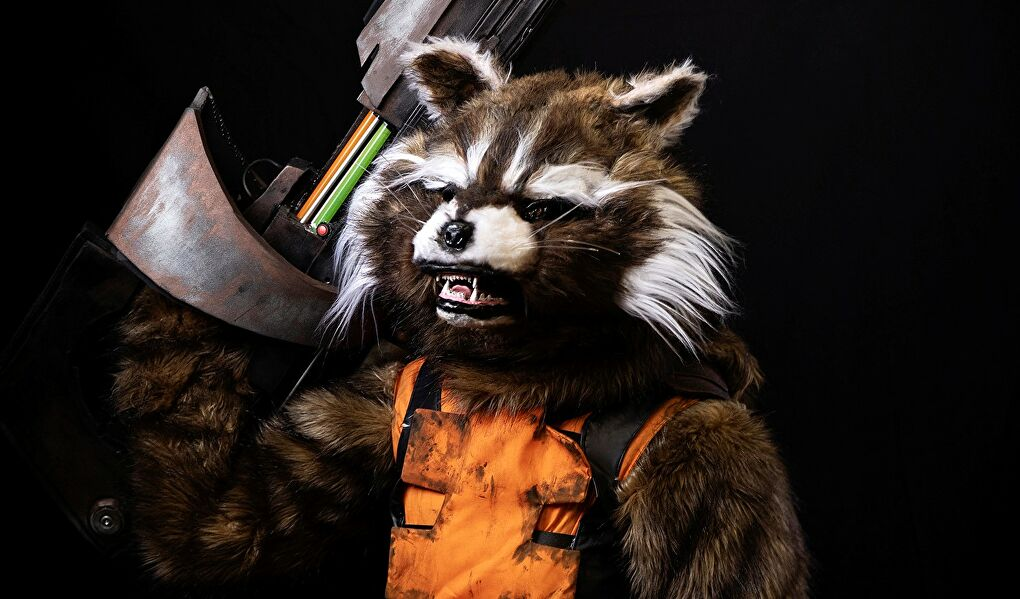 Rocket Racoon Headline
