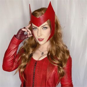 Scarlet Witch headpiece tutorial