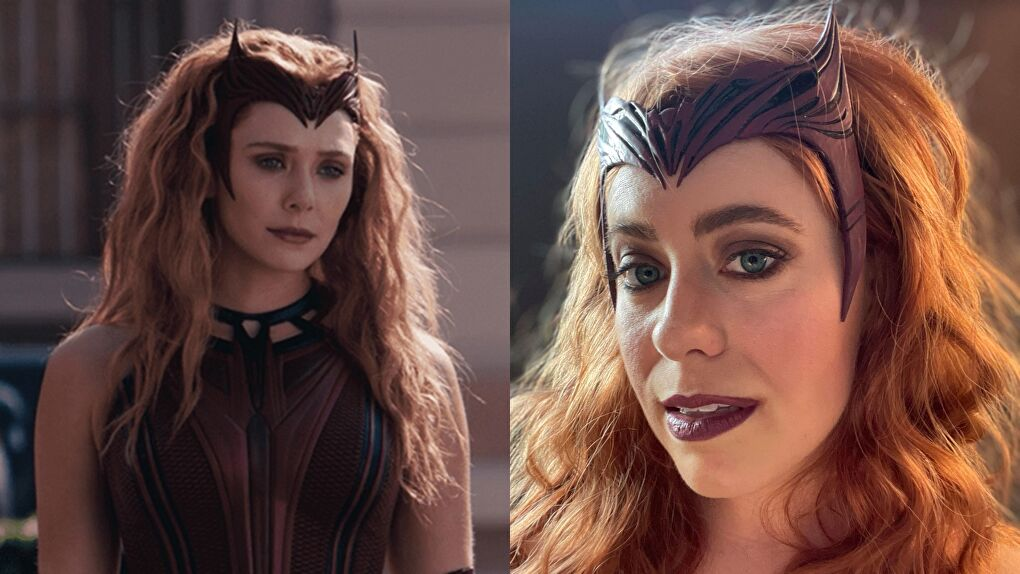 Scarlet Witch Headpiece Tutorial From WandaVision Finale