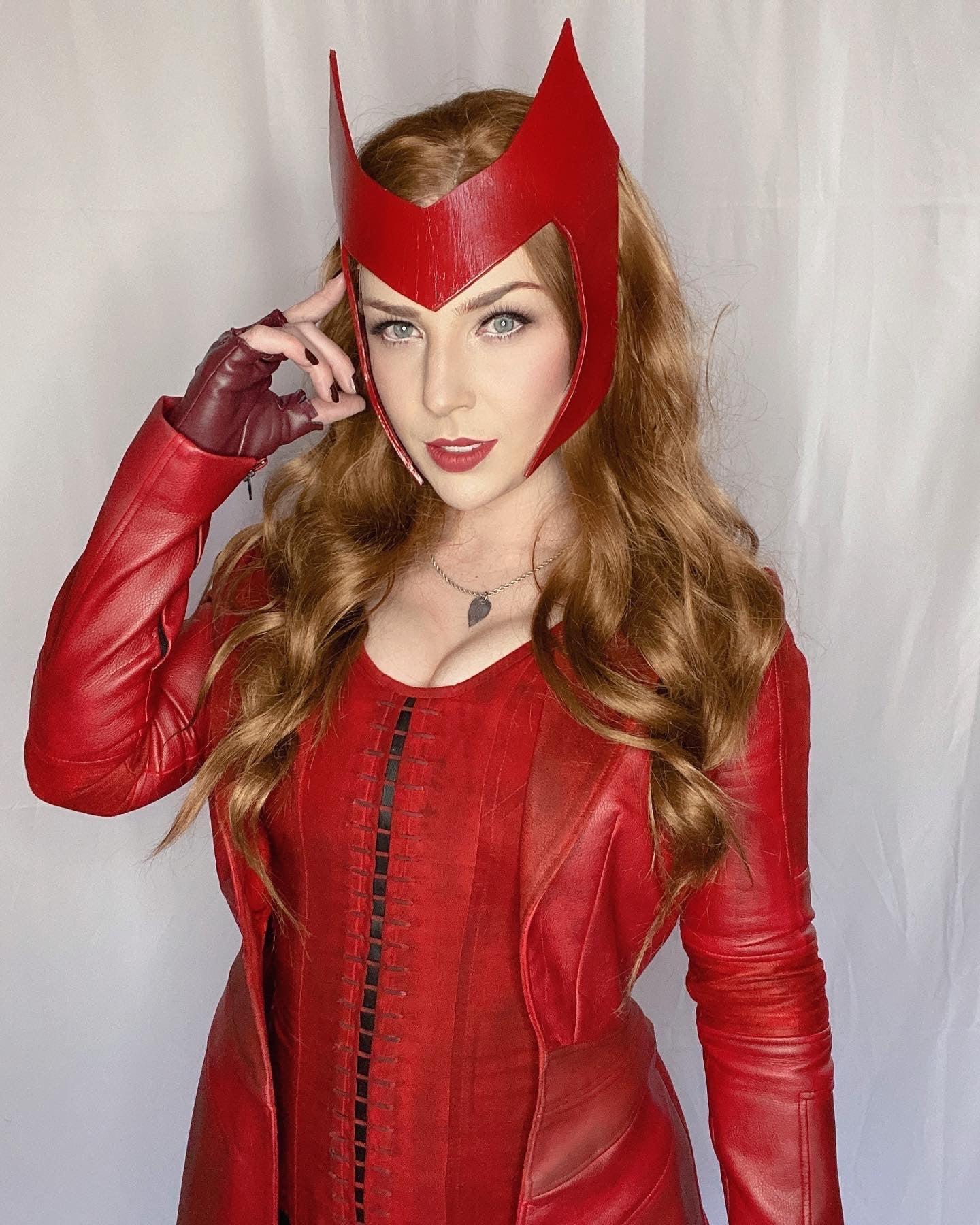 Scarlet Witch headpiece tutorial