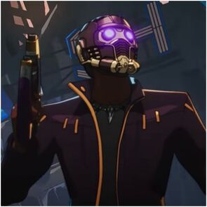 T'Challa as Star Lord from Marvel's What If