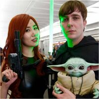 Star Wars Cosplayers at New York Comic Con