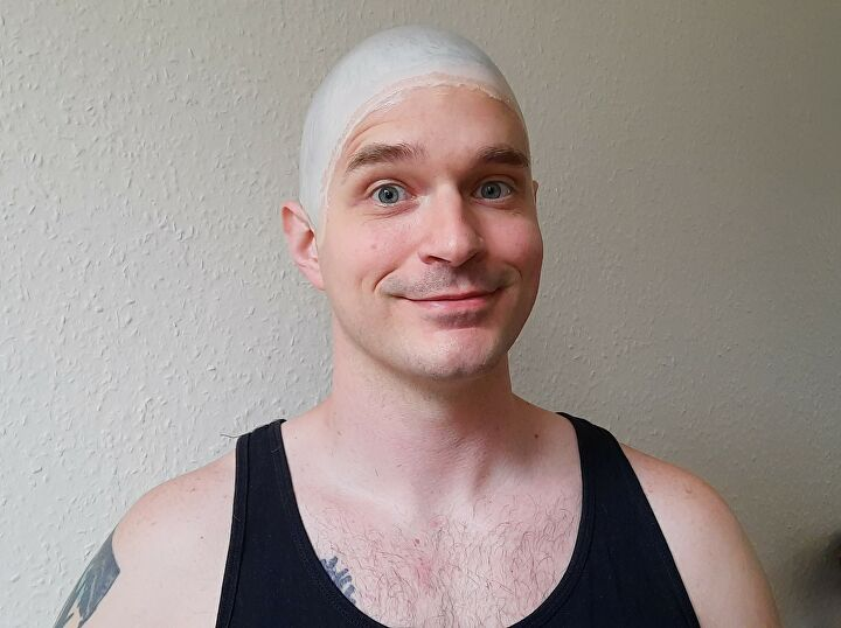 Bald Cap Tutorial