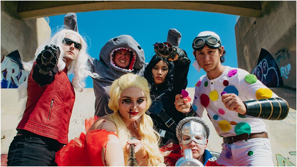 The Suicide Squad Cosplays