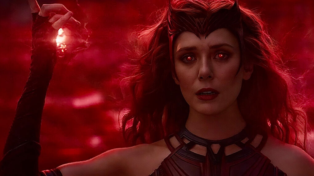 Scarlet Witch New Outfit On WandaVision