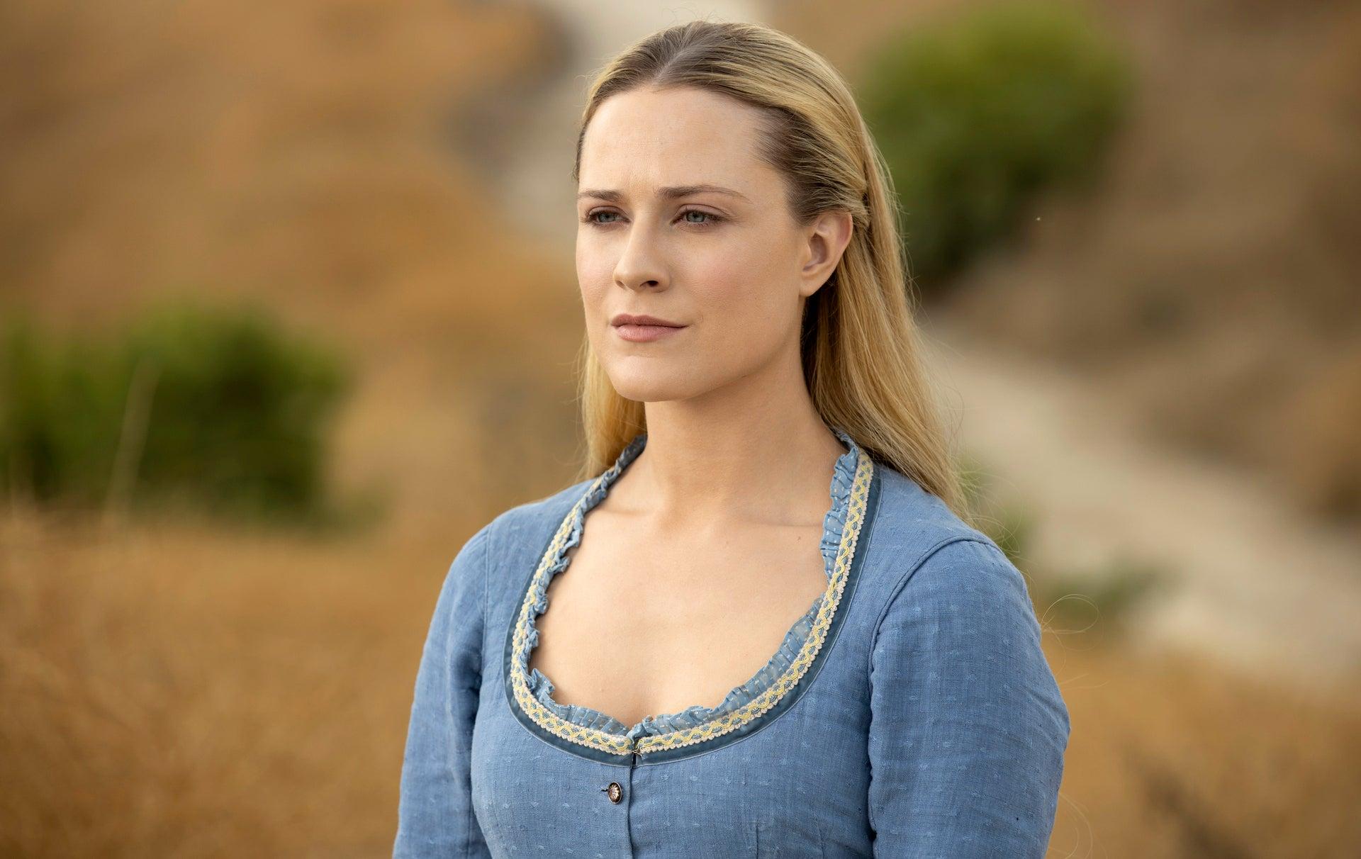 Evan Rachel Wood in HBO's Westworld