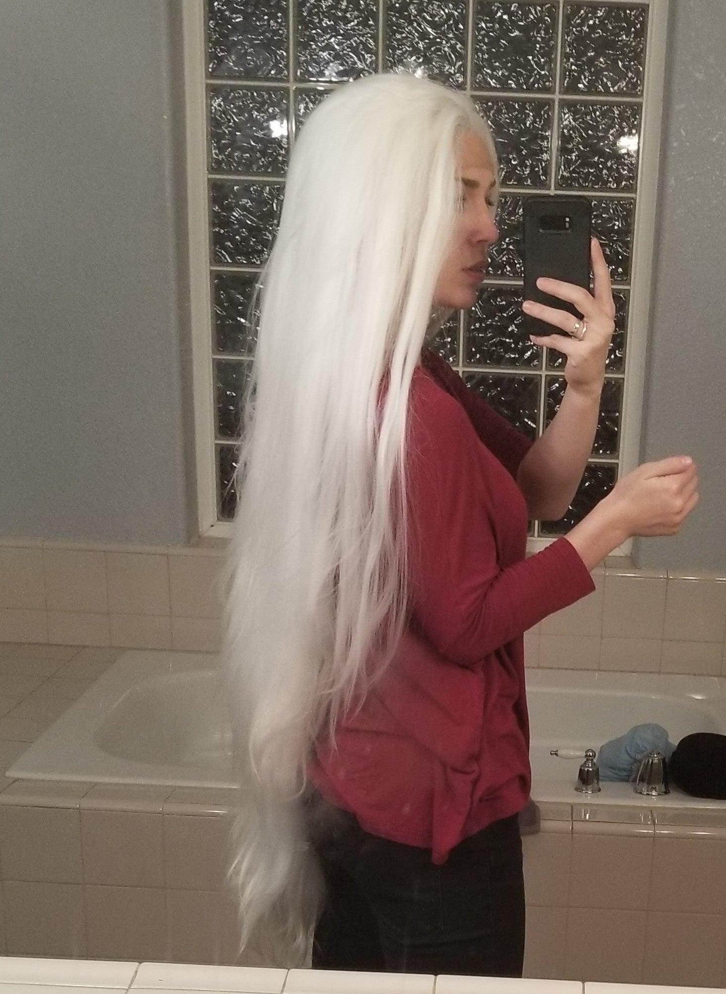 Sephiroth Wig Tutorial
