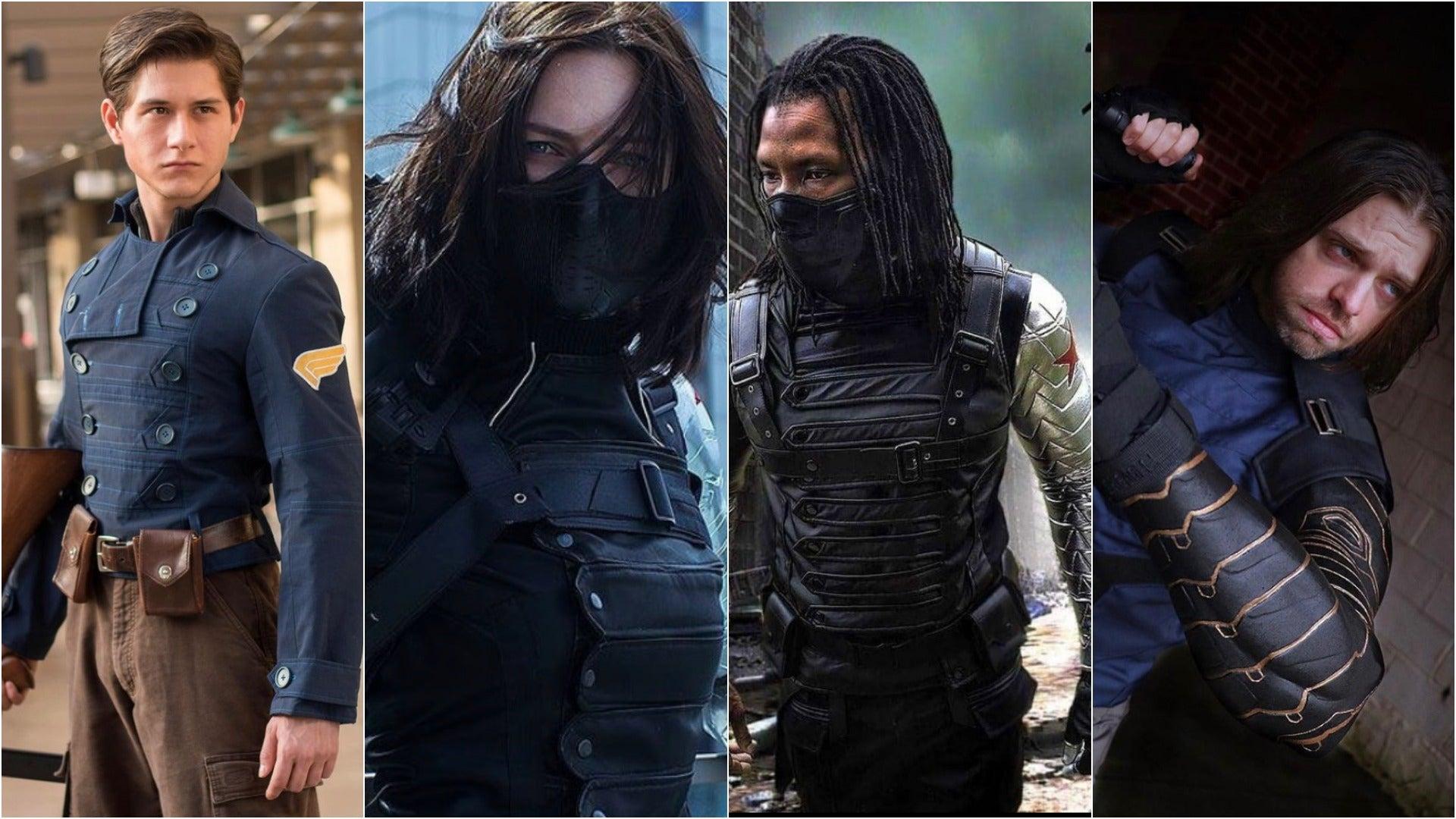 Winter Soldier Cosplays